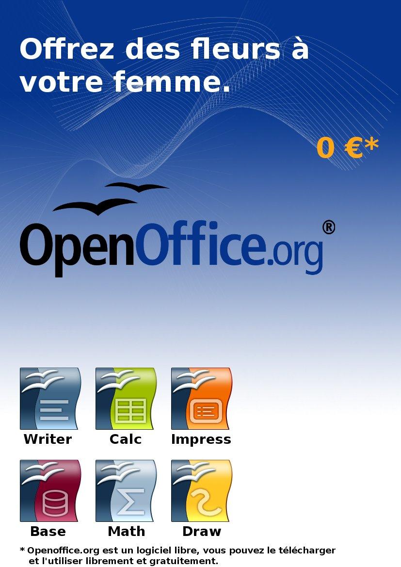 Publicité openoffice.org