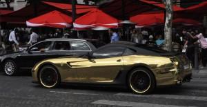 Ferrari dorée